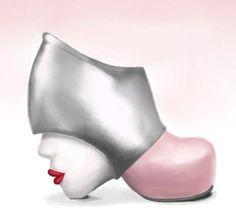 What a strange shoe?!