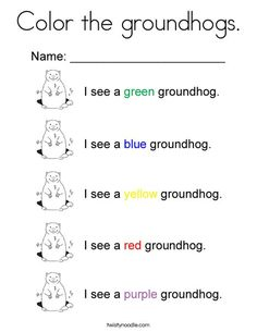 groundhogs coloring sheets yahoo image search results happy groundhog day pinterest coloring sheets coloring and results - Groundhog Coloring Pages