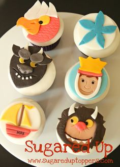 Where the Wild Things Are Party // Where the Wild Things Are Cupcakes