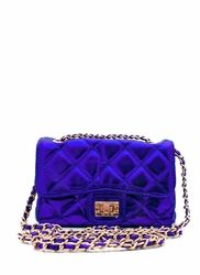 mini quilted clutch