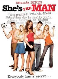 She's the Man - A 2006 American romantic comedy film directed by Andy Fickman, inspired by William Shakespeare's play Twelfth Night. The film stars Amanda Bynes, Channing Tatum, Laura Ramsey, and Vinnie Jones. Amanda Bynes, Man Movies, Funny Movies, Great Movies, Awesome Movies, See Movie, Movie List, Film Music Books, Music Tv