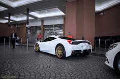 Ferrari 458, Gold Shoes, Cars, Autos, Car, Automobile, Trucks