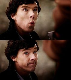 My face when someone says they don't like Sherlock...