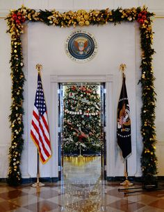 White House holiday decorations, 2012