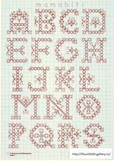 alphabet - Gallery.ru / Фото #1 - 35 - Fleur55555