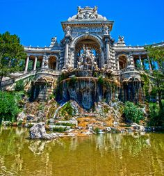 Palais de Longchamp, Marseille - will need to check it out when I'll get to Marseille!