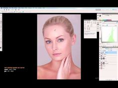 Skin Colour Correction Using Curves in Photoshop  http://youtu.be/QUkJFNI5ukQ