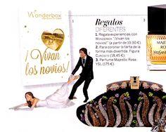 Woman, noviembre de 2013. Especial bodas. Aparece nuestro adorno de tarta nupcial de novia reticente...