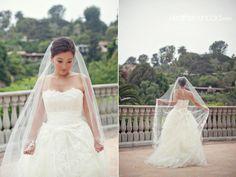 Romantic veil.