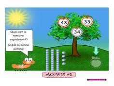 décomposition nombres tni tbi Grade 1, Montessori, Aide, Maths, Boutique, Comics, Cycle, Document, Fictional Characters