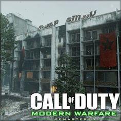 Call of Duty: Modern Warfare Remastered - Bloc Environments, Raquel Garcia