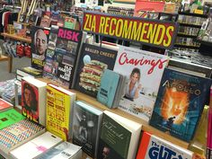 Looking for some inspired reading choices? The staff at Zia Records Tempe has picked out some cool ones.