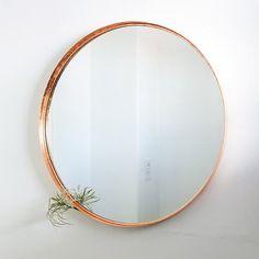 DIY Copper Mirror