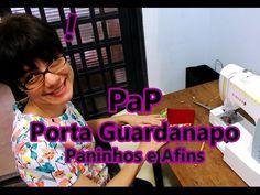 Porta Guardanapos - Costura com Riera Alta - YouTube