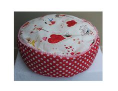 SALE 18 Floor pillow for girls Round pillow Round by 53Condesas, $20.00