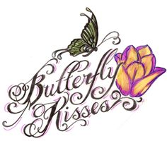 Butterfly Kisses Tattoo by ~Metacharis on deviantART