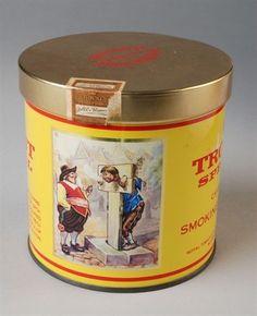 tabaksblik van Van Rossem, productnaam Troost (Special)