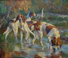 foxhounds by Katherine Landikusic