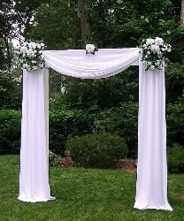 Image from http://www.dreamdaycreation.com/sitebuilder/images/NEW_Grand_Arch_with_Flowers_on_Ends_and_Center_and_draping_included-208x250.jpg.