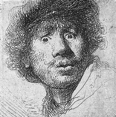 Image result for rembrandt cross hatching