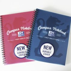 Oxford Campus A5 Notebooks