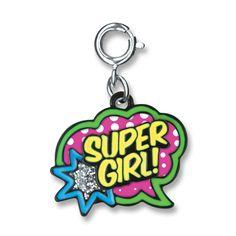 CharmIt Super Girl Charm- $5.00