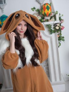 This kigurumi is made using much thicker fleece than we usually use! It is warmer, thicker and a little heavier than our usual fleece we use to make all other kigurumis. So, if you bought anything from our shop in the past - dont be surprised, this kigurumi feels a little different :3 IMPORTANT: Pijamas Onesie, Onesie Costumes, Daddys Little Princess, Trendy Hoodies, Cool Outfits, Fashion Outfits, Mode Hijab, Moda Fashion, Kawaii Clothes