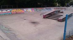 Skate park in Exhibition Park in West Jesmond