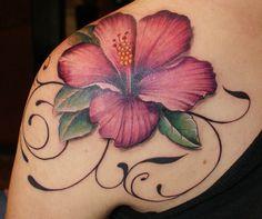 Tattoo - Hibiscus