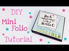 "Mini Folio 6""x6"" *Mini Album* [tutorial 