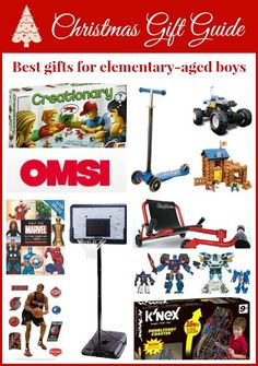 The best gifts for elementary-aged boys