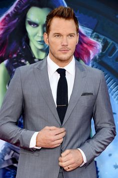 Chris Pratt really knows how to rock a suit.