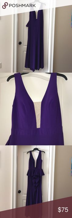 BRAND NEW PURPLE PROM/FORMAL DRESS FROM DILLARDS!! XSCAPE XS8314 never worn. Brand new with tags!! Perfect for prom, formal, pageants, and balls!! Xscape Dresses Prom