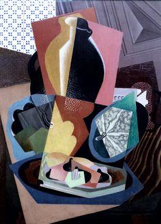 Gino Severini (1883-1966, Italy), Large Still Life with Pumpkin.