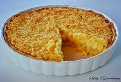 SÜTIK BIRODALMA: Klappertert - afrikai kókuszos pite Cornbread, Macaroni And Cheese, Deserts, Muffin, Coconut, Sweets, Ethnic Recipes, Food, Good Stocking Stuffers