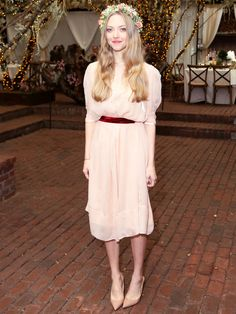 可愛い!憧れ!!NYで行われた「クレ・ド・ポー ボーテ」のイベントに、アマンダ・サイフリッドが登場。