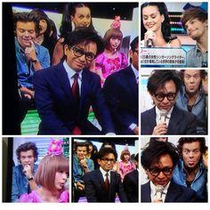 Harry And Louis Photobombing !!