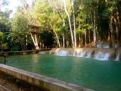 Tad Sae Waterfall - Luang Prabang Luang Prabang, Waterfall, Outdoor Decor, Home Decor, Decoration Home, Room Decor, Waterfalls, Home Interior Design, Home Decoration