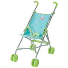 Corolle Baby Doll Umbrella Stroller Blue/Green - Free Gift Wrap ...