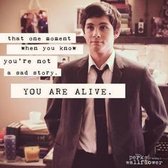 (7) the perks of being a wallflower quotes | Tumblr