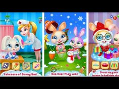 Bunny Boo My Christmas Pet Coco Play Tabtale Android İos Free Game GAMEP...