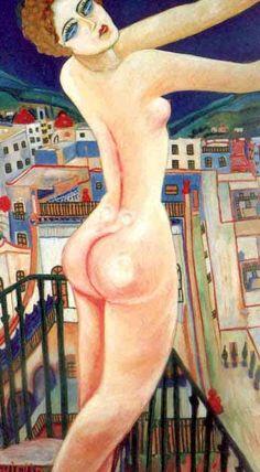PINTORES LATINOAMERICANOS-JUAN CARLOS BOVERI: Pintores Mexicanos: CARMEN MONDRAGÓN-NAHUI OLIN