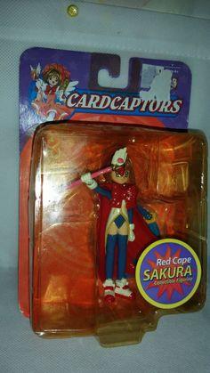 Rare Red Cape SAKURA Figurine by CARDCAPTORS ~ FACTORY SEALED RARE TOYS #CARDCAPTORS