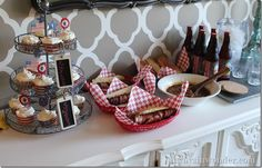 A Red, White and Blue Dinner Party with Cost Plus World Market -- Always in Wonder