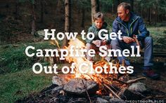 A campfire is part of the fun of camping. Whether it's to keep warm, cook on, or just socialize around, the campfire is an intrinsic part of the experience. The problem is how to get the campfire smell out of your clothes, that after all the fun. Keep Warm, How To Get, Camping, Cook, Fun, Movie Posters, Clothes, Campsite, Outfits