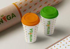 Branding // Pistinèga // Juice Bar on Behance