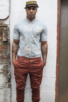 Monday Men Style: Some Veins and Ink. |