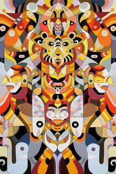 "Fernando Chamarelli's""Secret Code"" at Thinkspace... - SUPERSONIC ART"