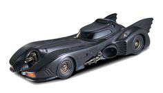 I remember back in the 90s, little boys had Batmobiles, while us girls had those obnoxiously pink Barbie Jeeps. So many crashes, so little insurance. You won't have that problem with this Batman Returns Batmobile 1:18 Scale Hot Wheels Heritage Die-Cast Vehicle though. This menacing, yet awesome, car features an opening cockpit, so you can …