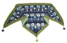 Summer Meadow Shawl - Dark Blue knitkit - knitting - knit - knitkits